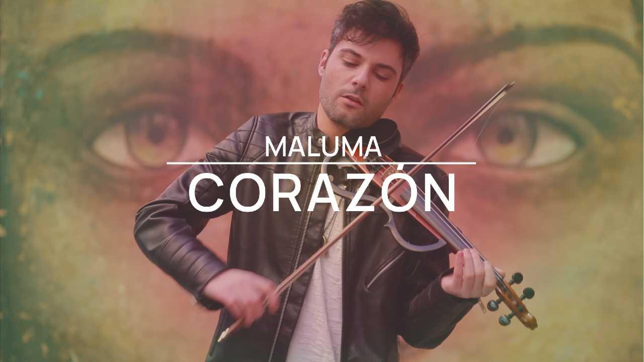 Corazón - Maluma - Violín cover by Jose Asunción