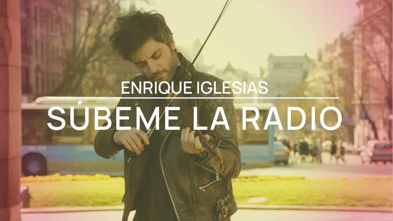 Súbeme la radio - Enrique Iglesias - Violin cover by Jose Asunción